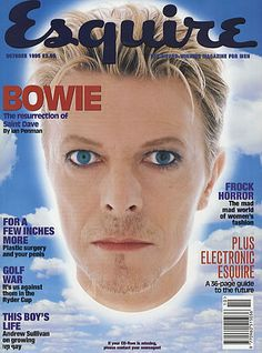 David Bowie - Esquire Magazine [United Kingdom] (October 1995)