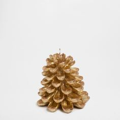 GOLDEN PINECONE CANDLE - Candles - Decoration | Zara Home United Kingdom
