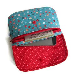 Image of Achille Coin Purse Tutorial- Image of Tutoriel du porte monnaie Achille Image of Achille Coin Purse Tutorial - Coin Purse Tutorial, Pouch Tutorial, Diy Bags Purses, Diy Purse, Coin Purses, Sew Wallet, Diy Sac, Couture Sewing, Crochet Purses