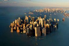 New York City sea level rise, NYC under water, sea level rise, flooding, flood