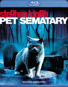 "1989 film adaptation of Stephen King's ""Pet Sematary"" on Blu-ray October Stephen Kings, Films Stephen King, Best Horror Movies, Scary Movies, Great Movies, Saddest Movies, Halloween Movies, Mary Lambert, Pet Sematary"