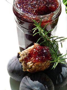 Gourmandise et Cuisine: Confiture de Figues au Romarin