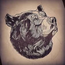 Картинки по запросу тату медведь