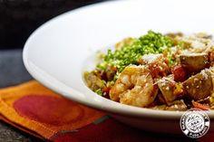Marijke kookt: 'Pasta de Vie' met veel groentjes en scampi's