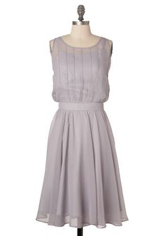 Grecian Grey Dress