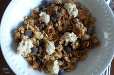 Chocolate Chip Cookie Granola, one of the Cookie Dough versions