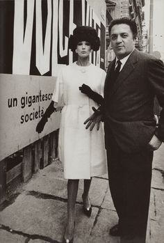 High fashion & FELLINI photo by WILLIAM KLEIN 1960 La Dolce Vita poster from Dolce Vita Style by Jean-Pierre Dufreigne (minkshmink)