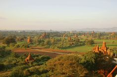 The temples and pagodas of Bagan seemingly go on forever
