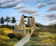 Henri Rousseau (1844 - 1910) | Naïve Art (Primitivism) | The Quarry