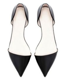 a7f7579ca2ea Pointed Flat Shoes. Only  36!! I Might Need To Buy These Right Now