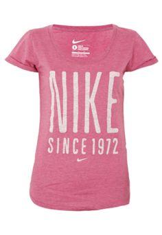 Camiseta  Nike Stretch Scoop Rosa R 89.90  2313cf5c95b91