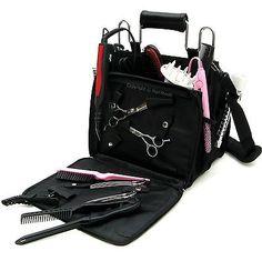 New Professional Hairdressing Salon Portable Tool Case Session Bag Kit Holder   eBay