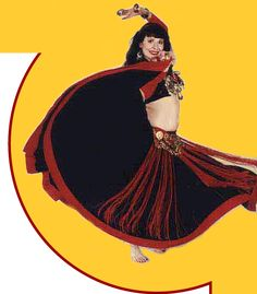 Flying Skirts ~ Tribale Belly Dance Costumes ~~ http://www.flyingskirts.com/
