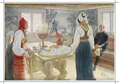 Welcome to www.swedishinteriordesign.co.uk - the Home of Swedish Lifestyle: the Beauty of carl larsson - Design Inspiration