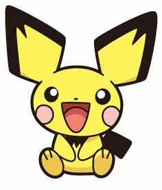 this is a pokemon the first evolution of pikachu Pichu Pikachu Raichu, Pokemon Pokedex, Make A Pokemon, Pokemon Funny, Pokemon Games, The Legend Of Zelda, Marvel Wallpaper, Cartoon Wallpaper, Cinderella Pictures