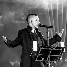 # Blutengel # Chris Pohl # On Stage # Musik # Gothic