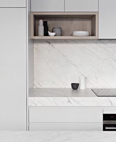Design, Styling + Reno Tips ( Retro Home Decor, Cheap Home Decor, Marble Benchtop, Marble Countertops, Kitchen Countertops, Kitchen Appliances, Kitchen Interior, Kitchen Design, Marble House