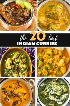 The 20 best Indian curries you can try at home! Indulge in an Indian feast, right in the comforts of your home.