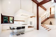 White & Wood: Crystal Clear by Aspen Leaf Interiors