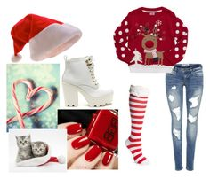 """""""Christmas"""" by wu-yifan-kris-exo ❤ liked on Polyvore featuring New Directions"""