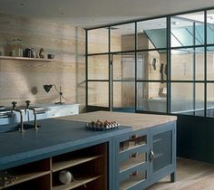 The Osea kitchen from Plain English