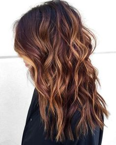 Lovely Medium Brown Red Hair Color