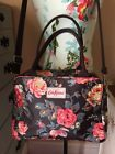 Cath Kidston London Floral Messenger Style Cross Body Shoulder Bag Purse NWOT
