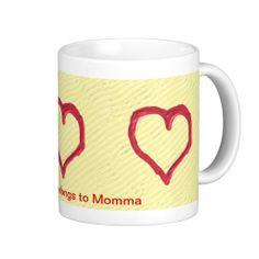 Heart in the Sand Coffee Mug #zazzle #mugs #valentinesday #hearts #sand