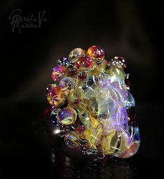 """Кольца ручной работы. Ярмарка Мастеров - ручная работа. Купить Кольцо-1 из коллекции """"Самоцветы"""". Handmade. Марина Берулава, звезды"""