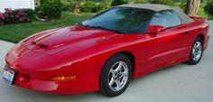 1997 Pontiac Trans Am WS6 Convertible