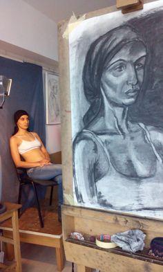 Drawing at highschool My Arts, Drawings, Painting, Sketches, Paintings, Sketch, Drawing, Draw, Portrait