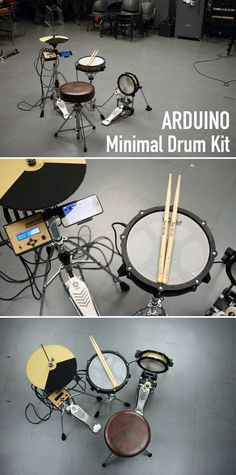 This is minimal drum kit using arduino UNO.