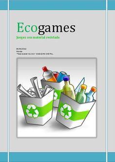 Juegos de material reciclado