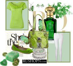 """""""St. Patricks Day"""" by kkat14 ❤ liked on Polyvore"""