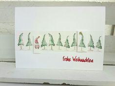 Time4Paper: Der Wald ist nicht genug... Diy Nativity, Christmas Nativity Scene, Christmas Themes, Homemade Christmas Cards, Holiday Cards, Winter Holidays, Christmas Holidays, Paper Art, Cards