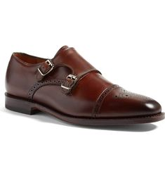 Main Image - Allen Edmonds 'St. Johns' Double Monk Strap Shoe (Men)