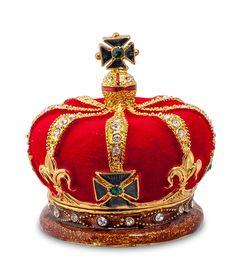 """Шкатулка """"Корона"""" SMT-76 (Nobility)   Бренд: Nobility (Гонконг);    Страна производства: Китай;   Материал: металл;   Длина: 2,5 см;   Ширина: 2,5 см;   Высота: 6 см;   Вес: 0,25 кг;"""