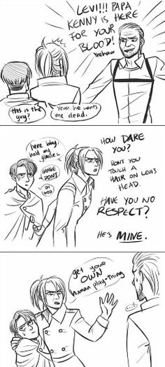 Levihan << Levi in the last frame tho I can't stop laughing