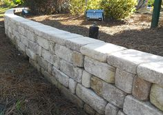 Country Manor Mocha Retaining Wall