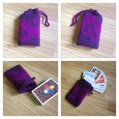 Knit Pattern Tarot Bag : 1000+ images about Crochet & Knitting on Pinterest Fair ...
