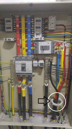 Wiring of the distribution board with rcd single phase home supply what is the name of this ring highlighted in white and what is the asfbconference2016 Gallery