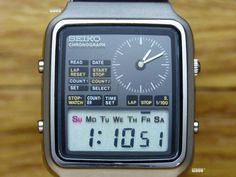 Retro Watches, Vintage Watches, Cool Watches, Authentic Watches, Luxury Watches For Men, Seiko, Casio Watch, Digital Watch, Chronograph