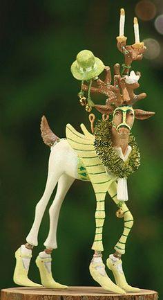 Krinkles by Patience Brewster - Dash Away Prancer Ornament