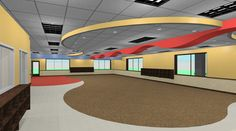 Child Care - Rendering - play room