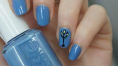 Nail art urban paris nailart tutorial easy
