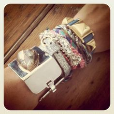 junky arm stack | Keep the Glamour | BeStayBeautiful