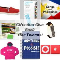 2013 Holiday Gift Guide: Gifts that Give Back for Tweens Holiday Gift Guide, Holiday Gifts, Tween Gifts, Promote Your Business, Giving Back, Business Website, Cool Gifts, Web Design, Gift Ideas