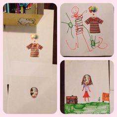 Com papel, cola, tesoura, material de colorir (lápis de cor ou canetinhas) e revistas você junta crianças de diferentes idades e garante a diversão.
