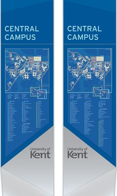 We are design consultants specialising in the design of unique wayfinding and information systems that communicate the identity and navigation of places. University Guide, University Of Kent, Directional Signage, Wayfinding Signage, Environmental Graphics, Environmental Design, Visual Management, Architectural Signage, Campus Map