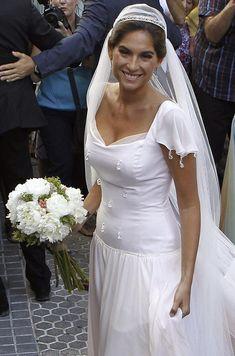 Lourdes Montes, una novia romántica y 'vintage' en tono rosa palo #brides